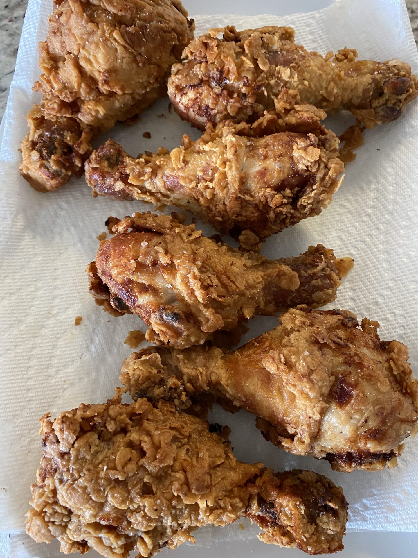 Easy Buttermilk Fried Chicken