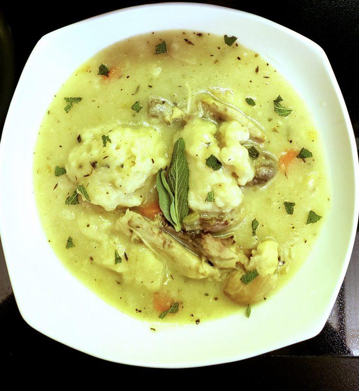 Chicken & Herb Dumpling Soup