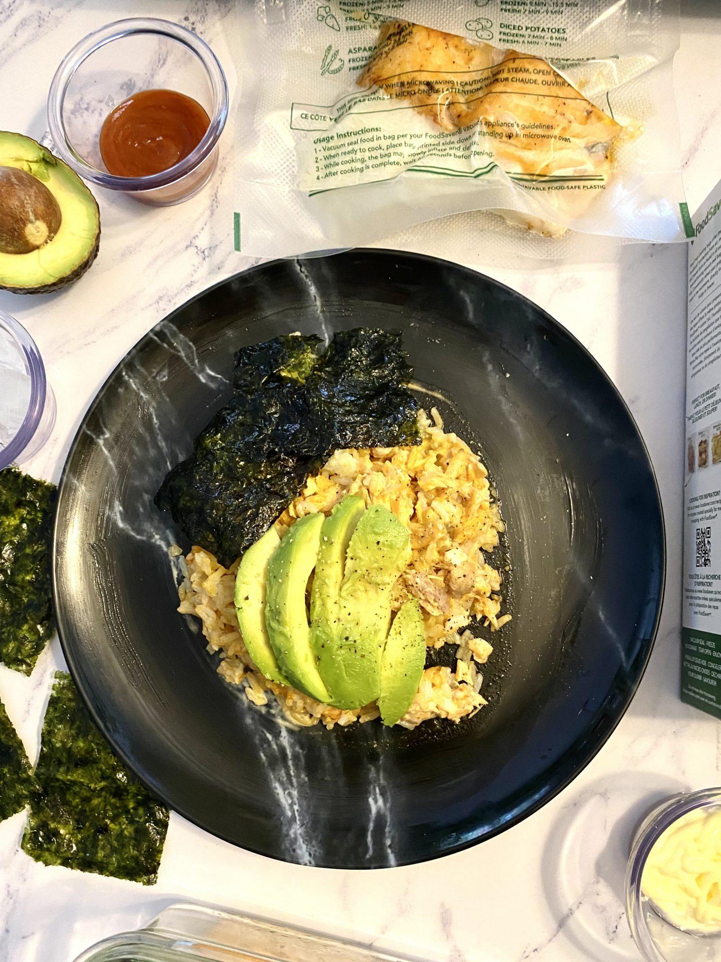 Viral Salmon Rice Bowl