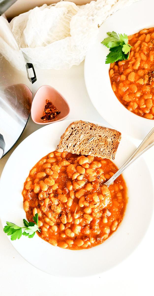 Instant Pot White Beans Soup